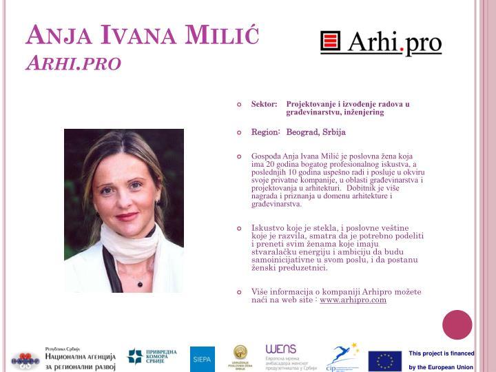 Anja Ivana Milić