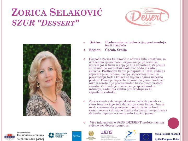 Zorica Selaković