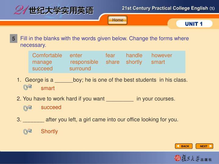 Vocabulary-Fill in1-1