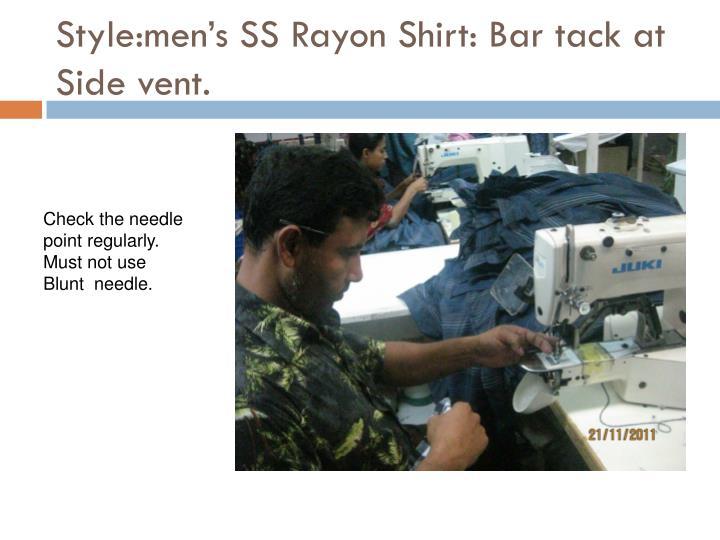 Style:men's