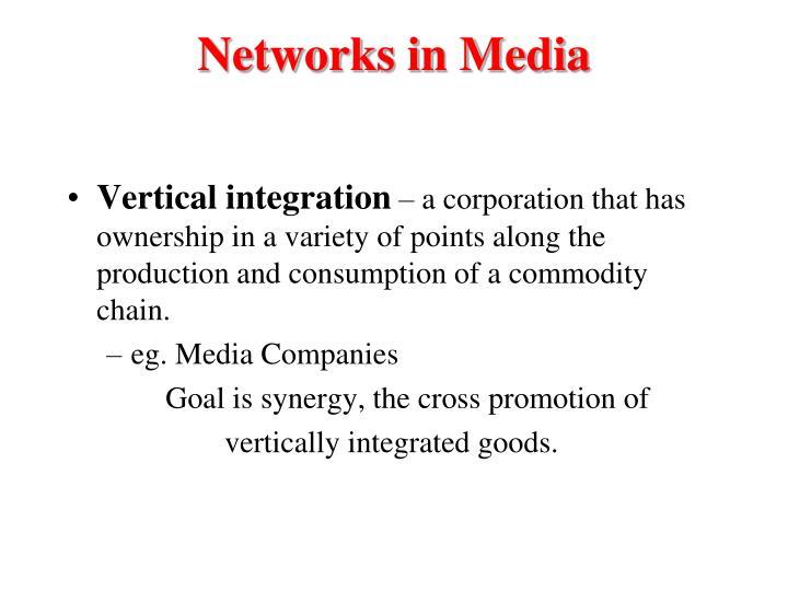 Networks in Media
