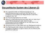 das politische system des libanon 2