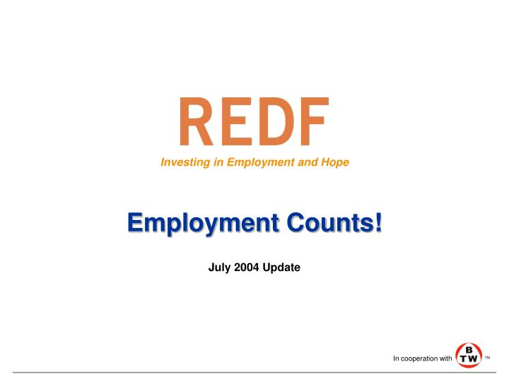 Employment counts