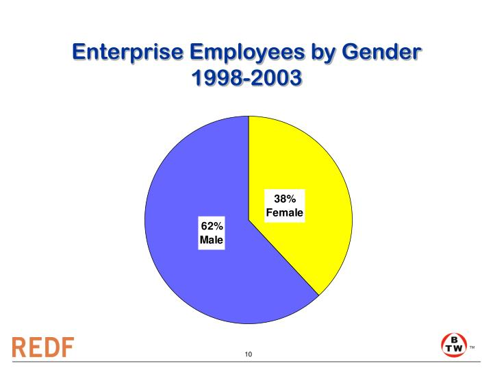 Enterprise Employees by Gender
