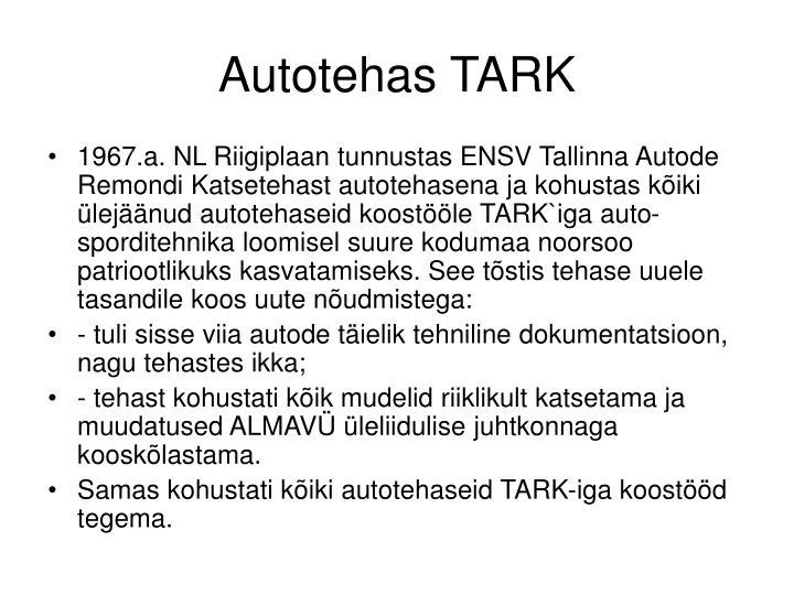 Autotehas TARK