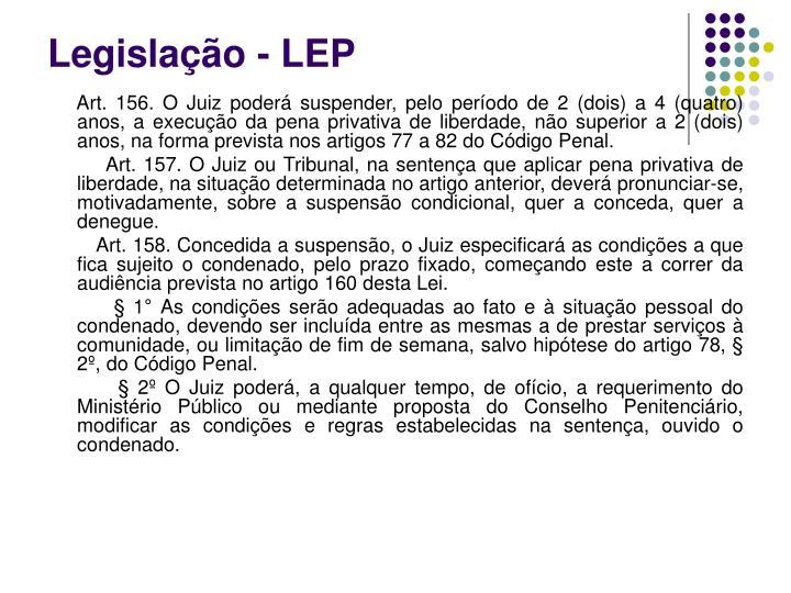 Legislação - LEP