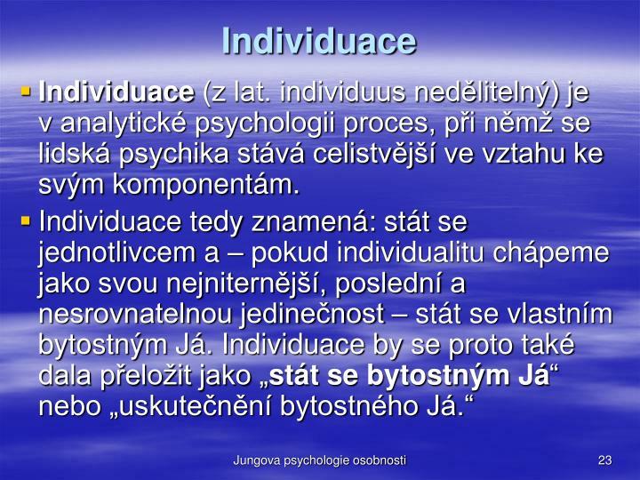 Individuace