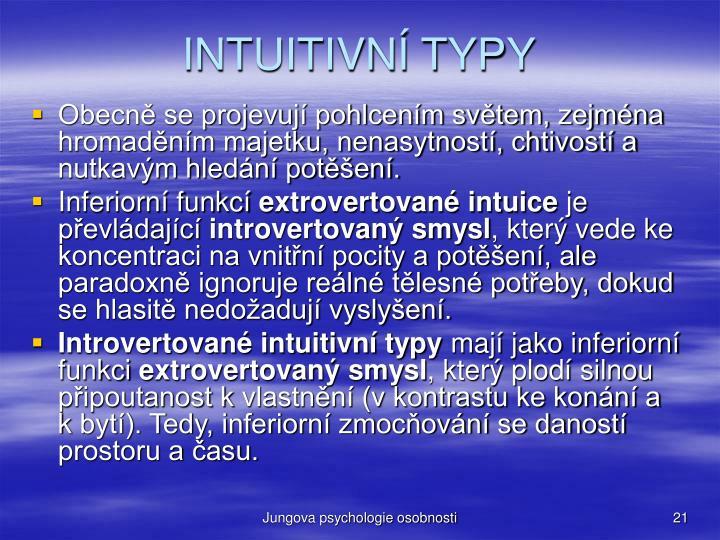 INTUITIVN TYPY