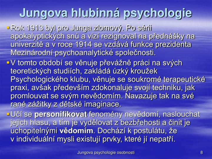 Jungova hlubinná psychologie