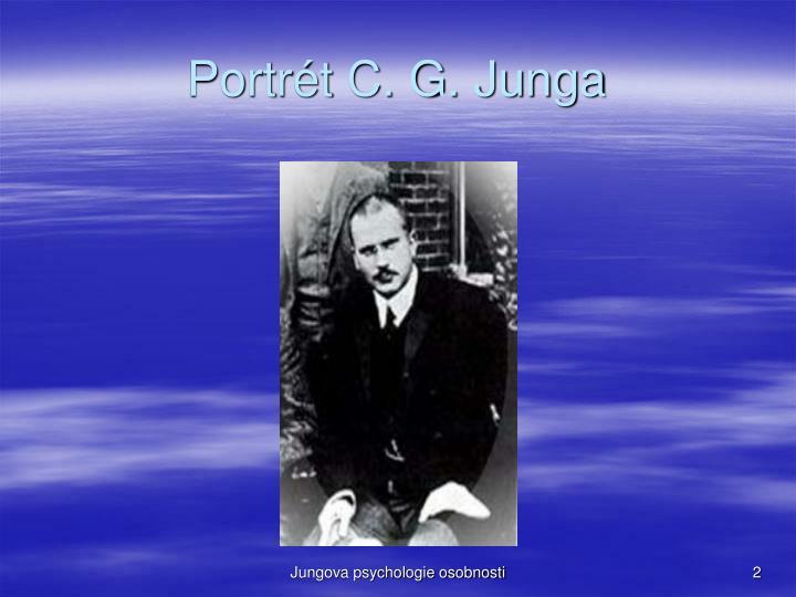 Portrét C. G. Junga