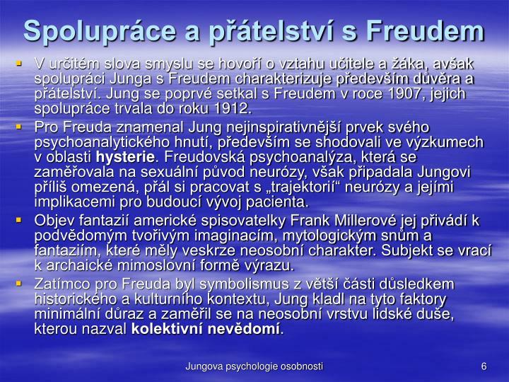 Spoluprce a ptelstv s Freudem