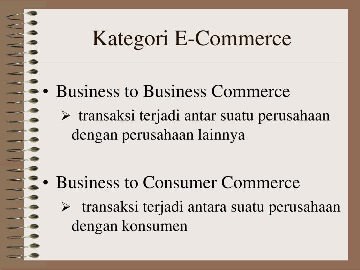 Kategori e commerce
