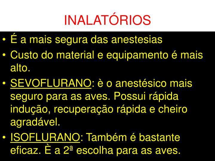 INALATÓRIOS