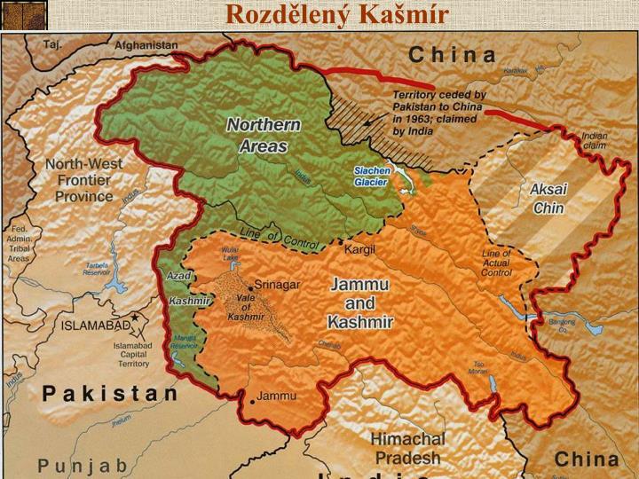 Rozdělený Kašmír