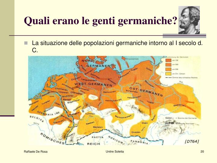 Quali erano le genti germaniche?