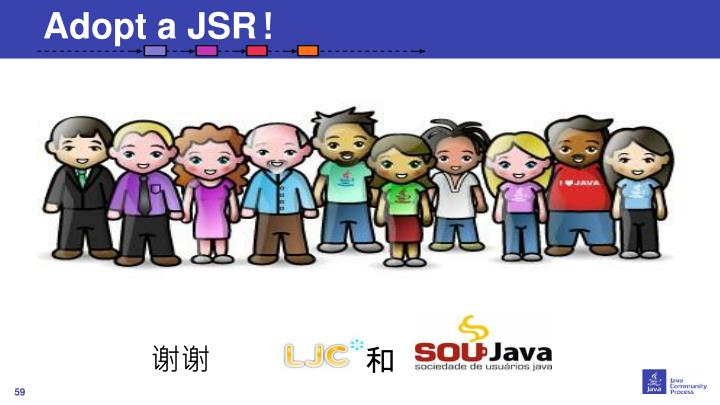 Adopt a JSR