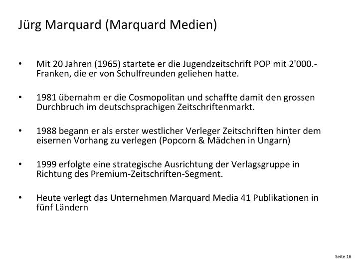 Jürg Marquard (Marquard Medien)