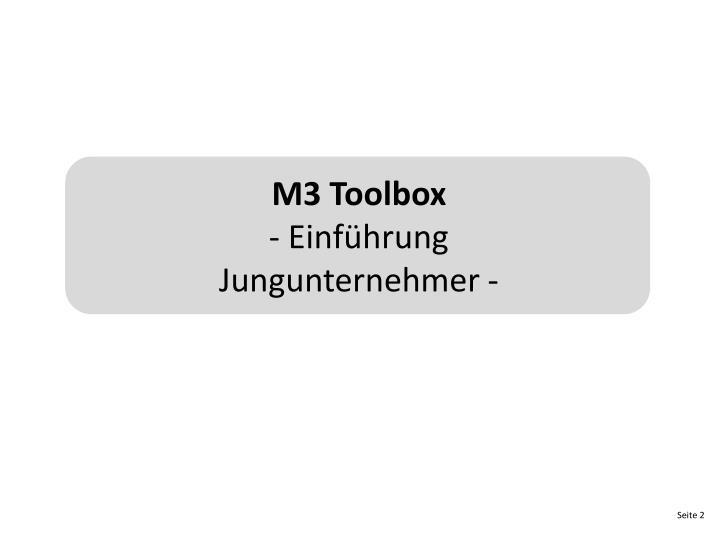 M3 Toolbox