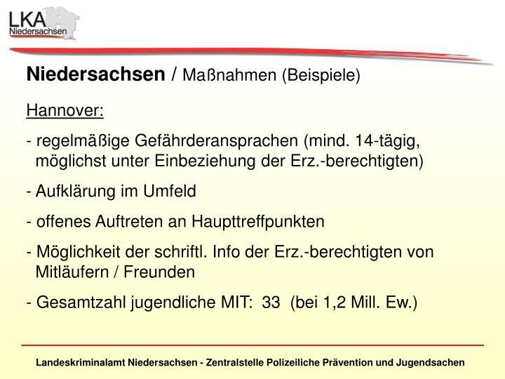 Niedersachsen /