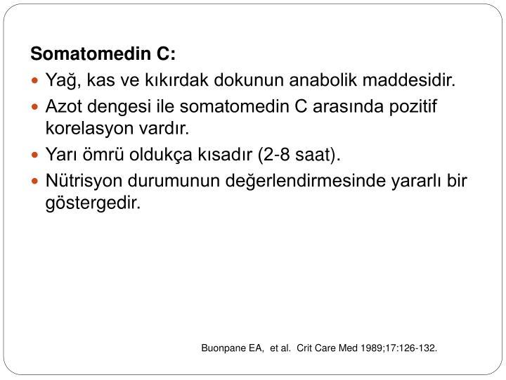 Somatomedin C: