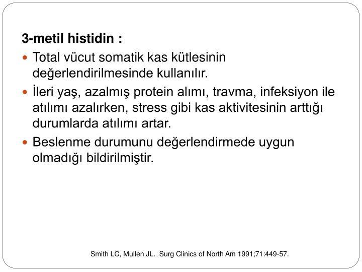 3-metil histidin :