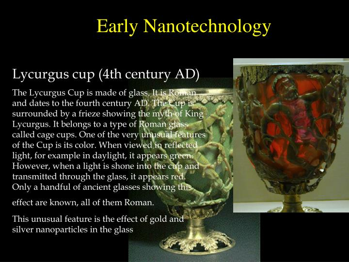 Early Nanotechnology