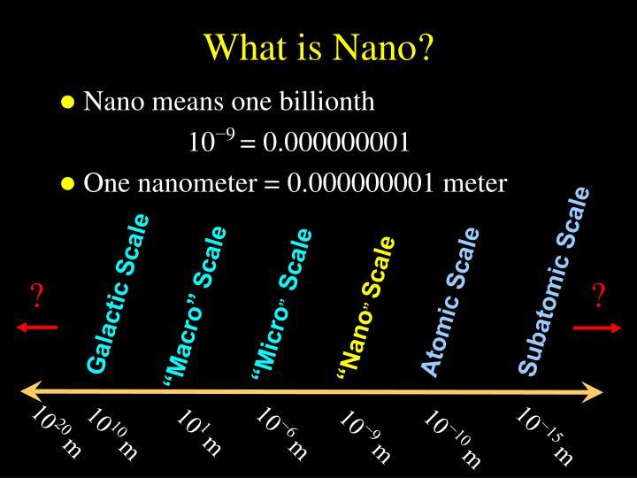 Subatomic Scale