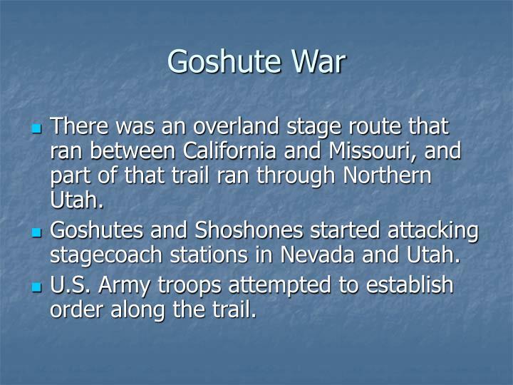 Goshute War