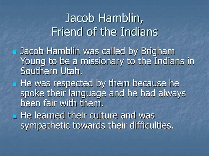 Jacob Hamblin,