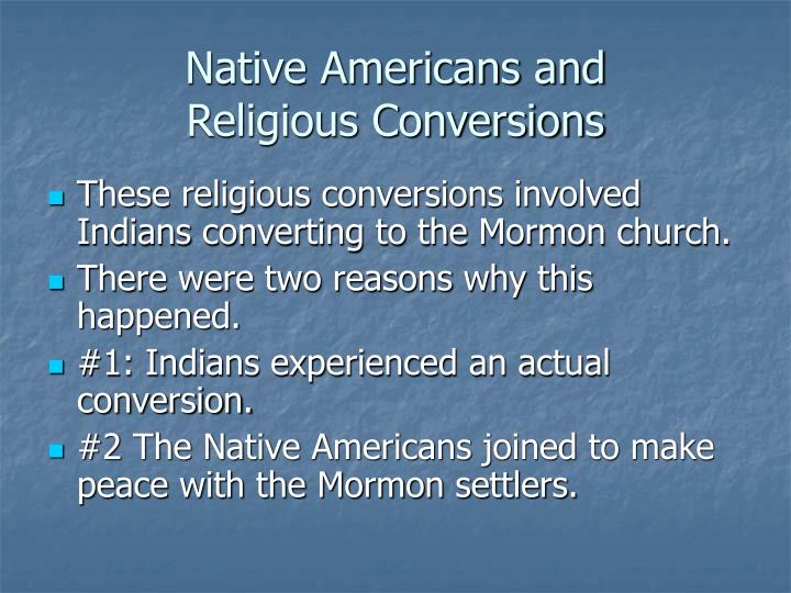 Native Americans and