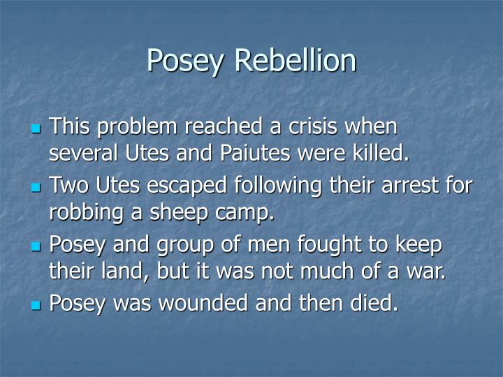 Posey Rebellion