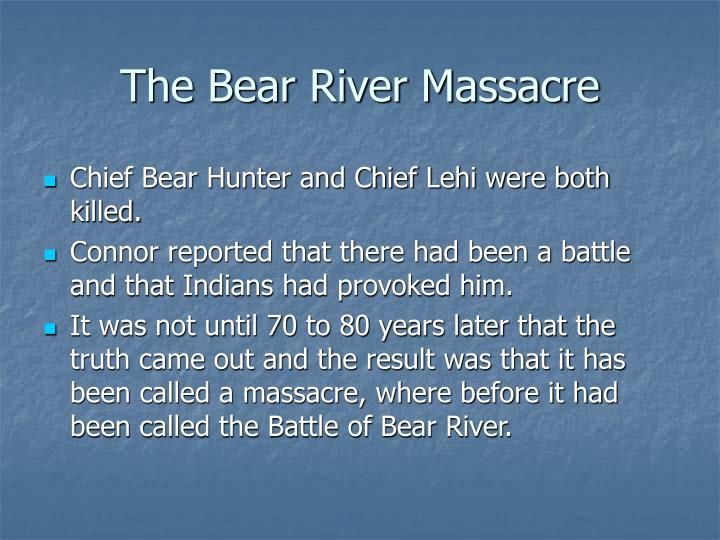 The Bear River Massacre