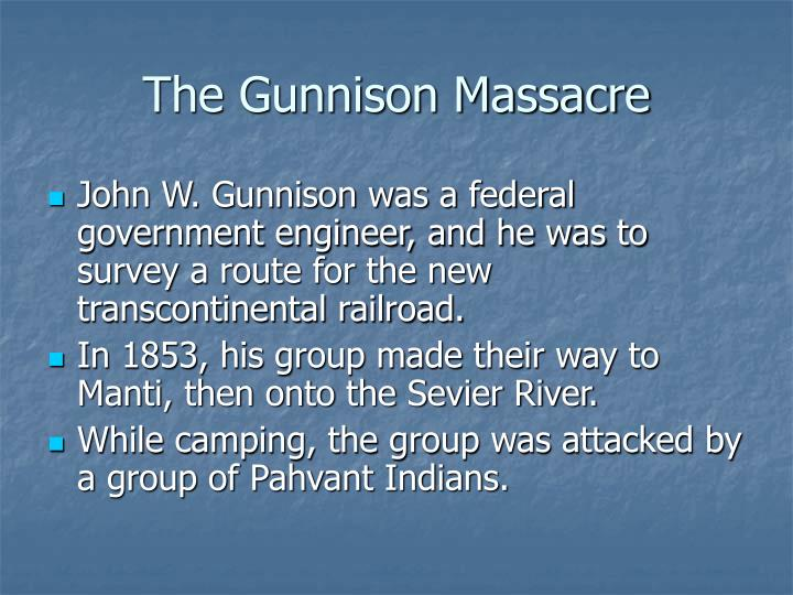 The Gunnison Massacre