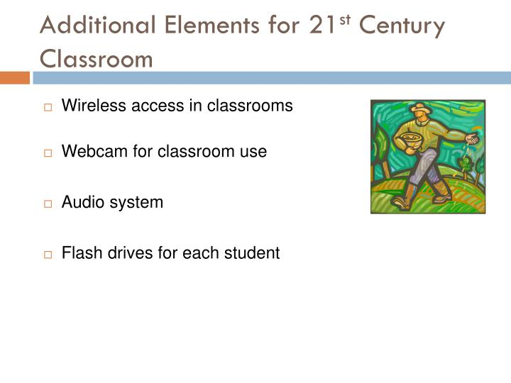 Additional Elements for 21