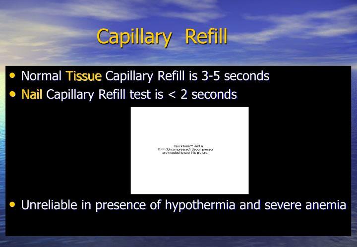 Capillary  Refill