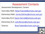 assessment contacts1