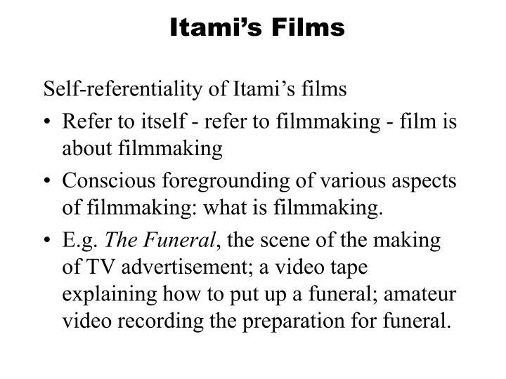 Itami's Films