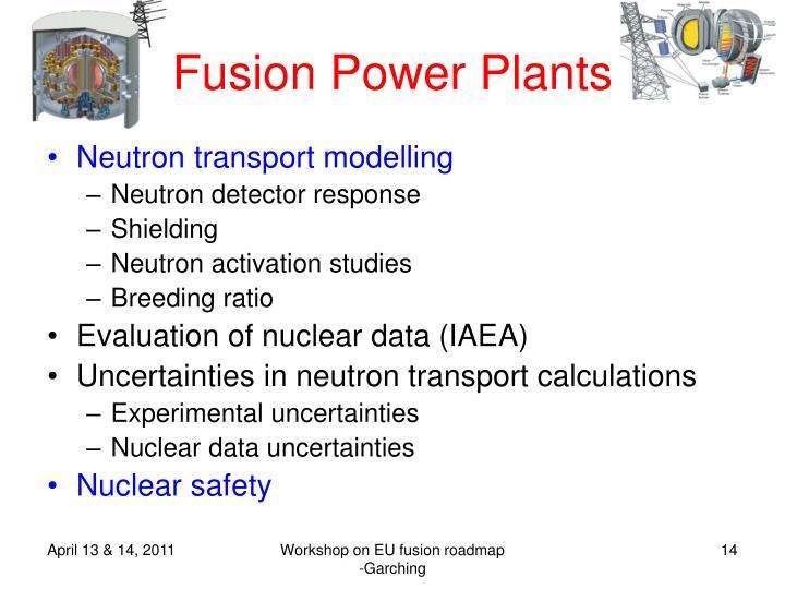 Fusion Power Plants