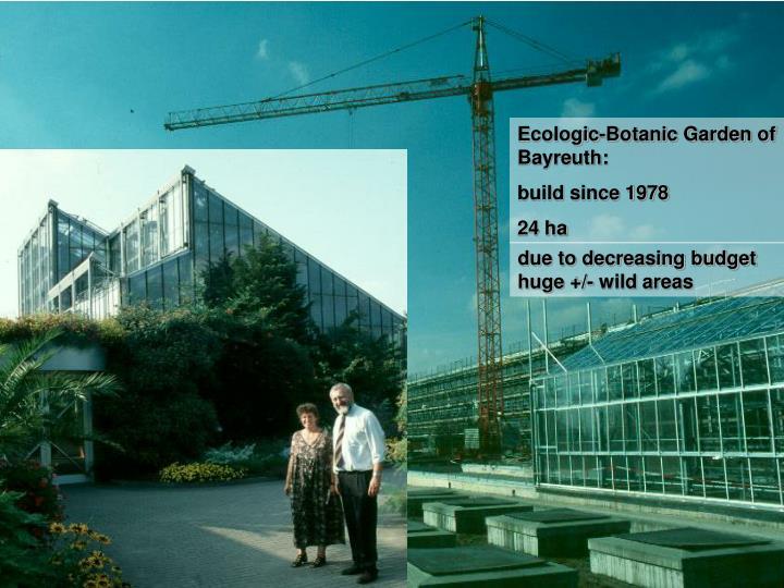 Ecologic-Botanic Garden of Bayreuth: