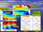 2 2 atmospheric bl adjustment to ssts c stability of atmospheric bl due to ssts