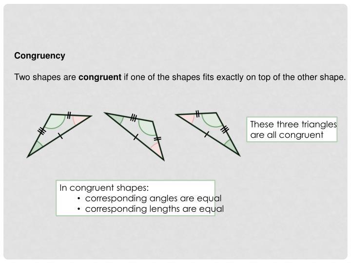Congruency
