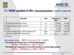 i 1 rd i system in ro characterization system capacity