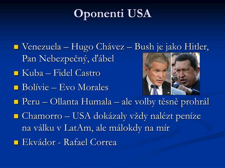 Oponenti USA