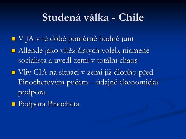 Studená válka - Chile