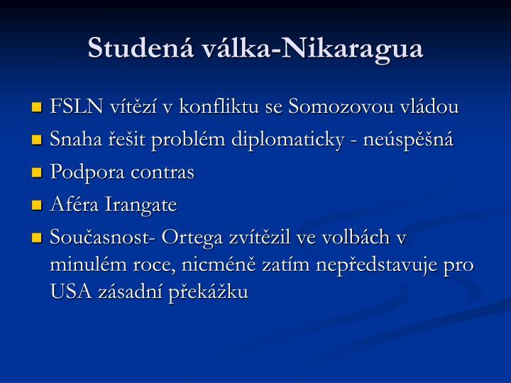 Studená válka-Nikaragua