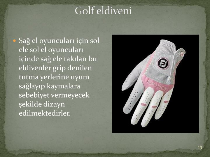Golf eldiveni
