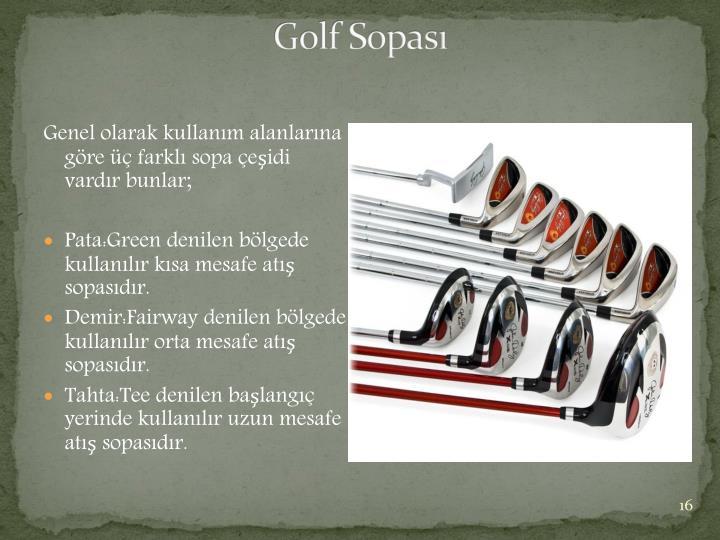 Golf Sopası