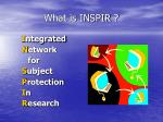 what is inspir