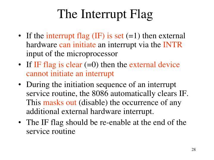 The Interrupt Flag