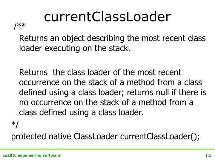 currentClassLoader